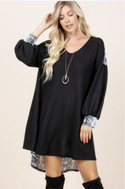 Empowered Woman Tunic Dress - In House - Women's Clothing AfterPay Sezzle KanCan Judy Blue Simply Sass Boutique