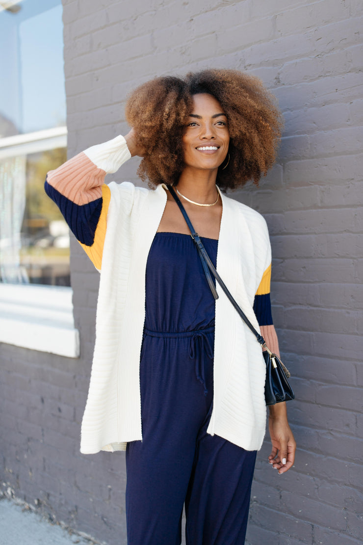 Sleeve Your Mark Cardigan - Women's Clothing AfterPay Sezzle KanCan Judy Blue Simply Sass Boutique