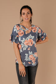 Southern Charm Floral Top - Simply Sass Boutique