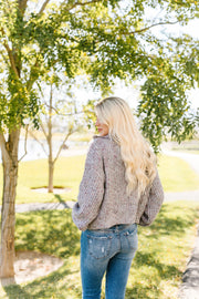 Speckled Gray Pullover Sweater - Women's Clothing AfterPay Sezzle KanCan Judy Blue Simply Sass Boutique