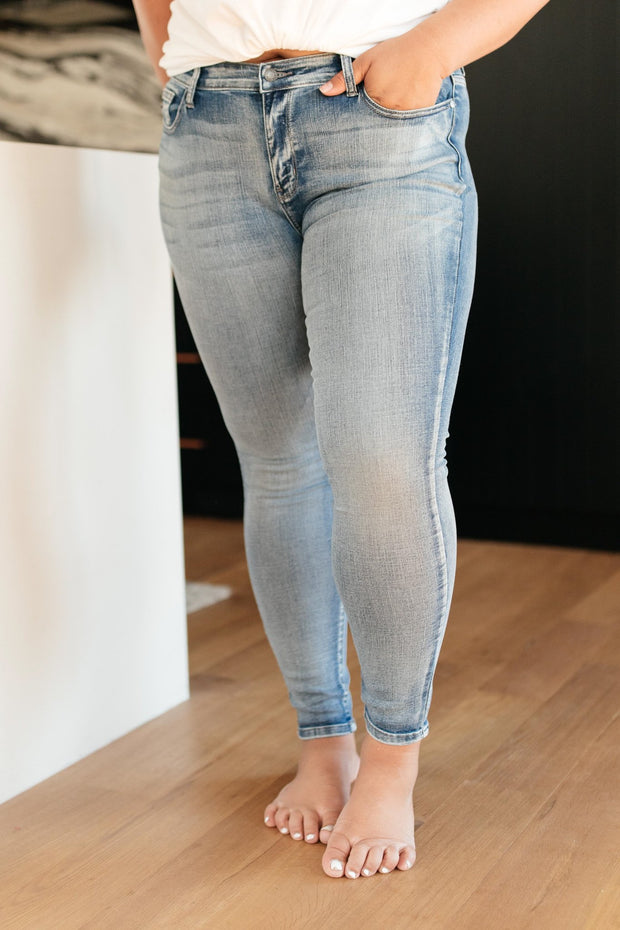 Stone Cold Light Wash Jeans - Women's Clothing AfterPay Sezzle KanCan Judy Blue Simply Sass Boutique