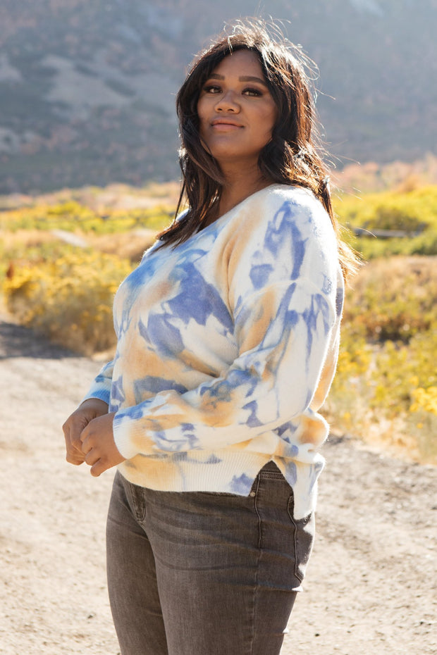 Tasha Tie Dyed Top - Women's Clothing AfterPay Sezzle KanCan Judy Blue Simply Sass Boutique