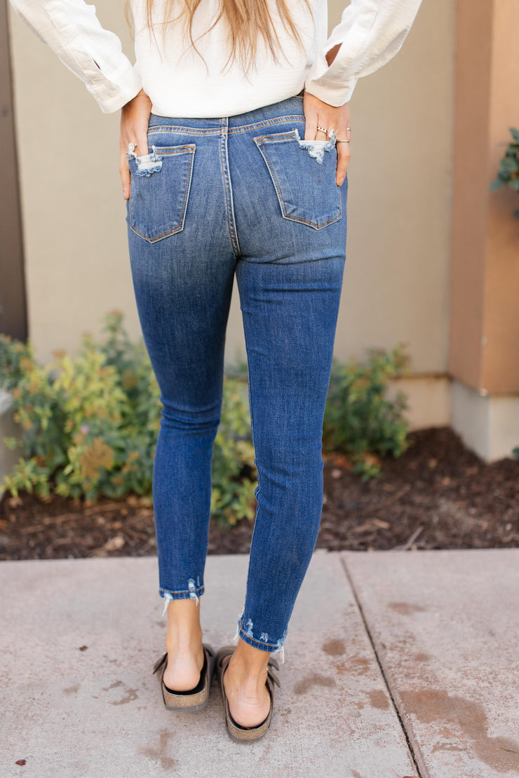Tattered And Torn Judy Blue Jeans - Women's Clothing AfterPay Sezzle KanCan Judy Blue Simply Sass Boutique