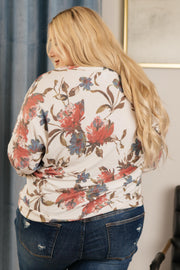 The Bailey Top in Ivory - Women's Clothing AfterPay Sezzle KanCan Judy Blue Simply Sass Boutique