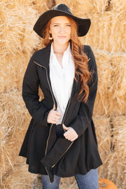 The Kim Coat - Women's Clothing AfterPay Sezzle KanCan Judy Blue Simply Sass Boutique