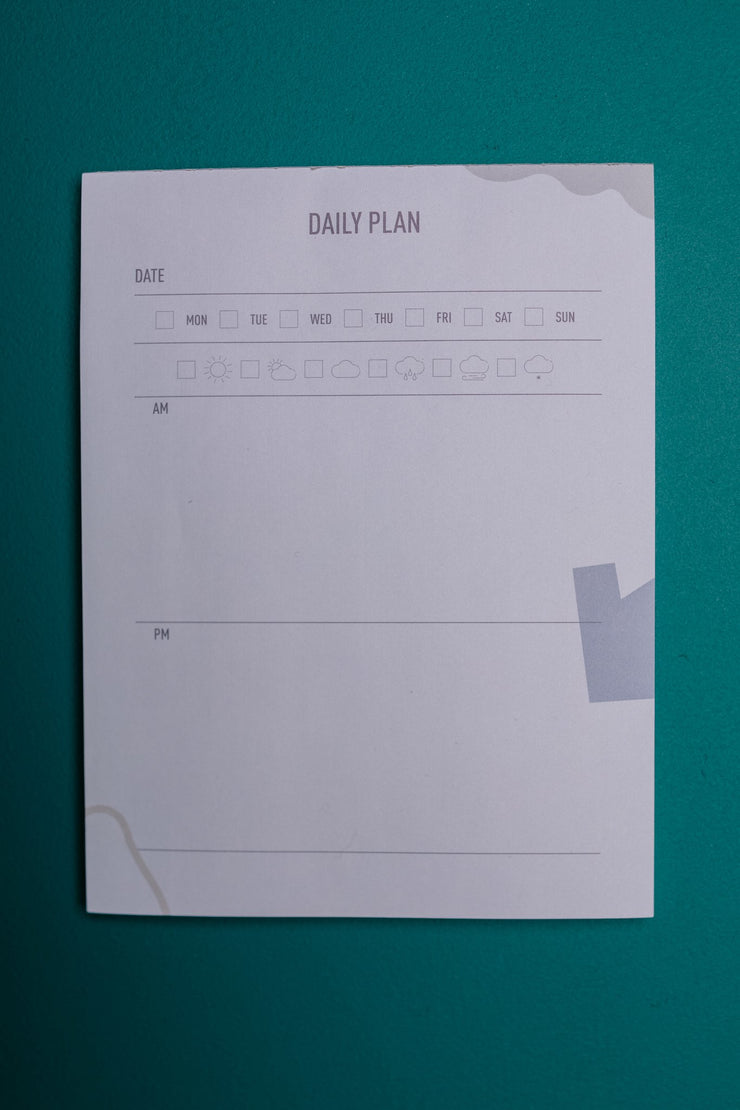 The New Me Gets Things Done Planner Pad - Women's Clothing AfterPay Sezzle KanCan Judy Blue Simply Sass Boutique