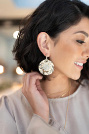 The Pearl Imbedded Earrings - Women's Clothing AfterPay Sezzle KanCan Judy Blue Simply Sass Boutique