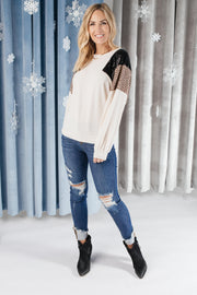 The Spotty Holiday Top - Women's Clothing AfterPay Sezzle KanCan Judy Blue Simply Sass Boutique