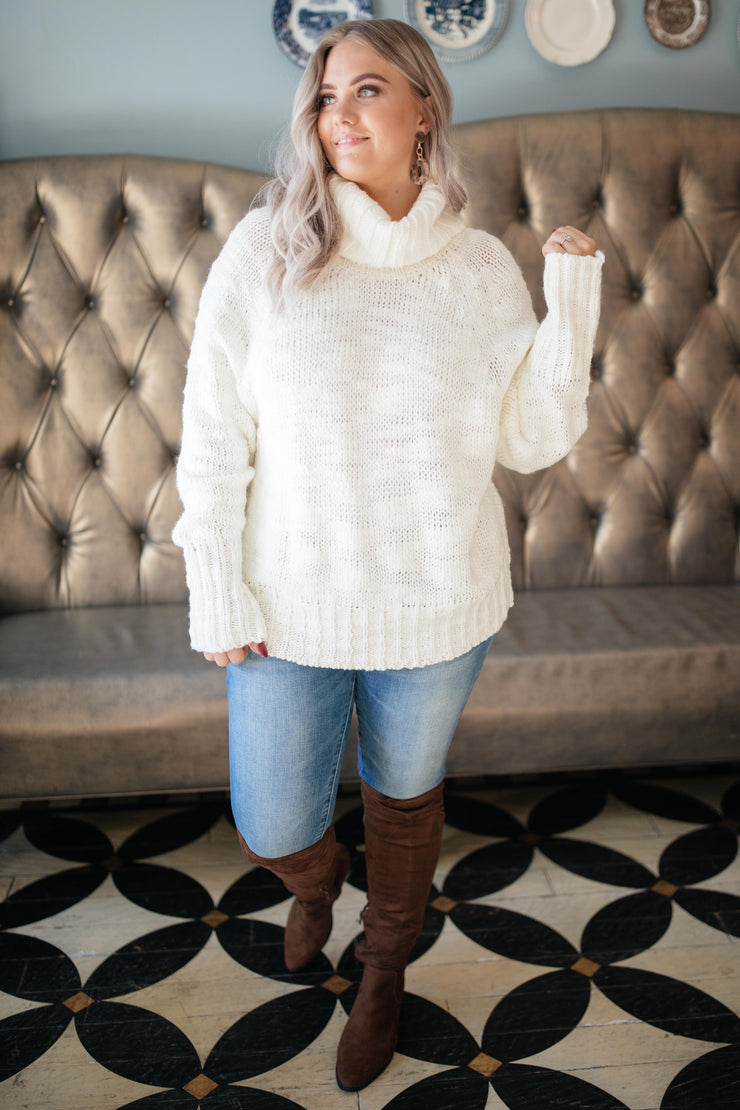 Timeless Turtle Neck Sweater - Women's Clothing AfterPay Sezzle KanCan Judy Blue Simply Sass Boutique