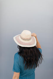 Undercover Striped Straw Hat - Simply Sass Boutique