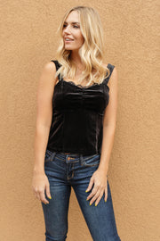 Velvet Vixen Camisole In Midnight - In House - Women's Clothing AfterPay Sezzle KanCan Judy Blue Simply Sass Boutique