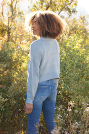 Wear Your Details On Your Sleeve Sweater - Women's Clothing AfterPay Sezzle KanCan Judy Blue Simply Sass Boutique