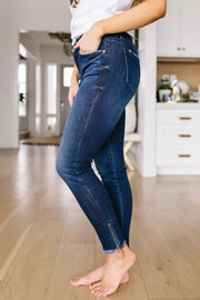 Zip-a-Dee-Doo-Dah Skinny KanCan Jeans - Women's Clothing AfterPay Sezzle KanCan Judy Blue Simply Sass Boutique