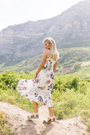 A Little Romance Midi Dress - Women's Clothing AfterPay Sezzle KanCan Judy Blue Simply Sass Boutique