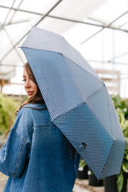 April Showers Polka Dot Umbrella - Women's Clothing AfterPay Sezzle KanCan Judy Blue Simply Sass Boutique