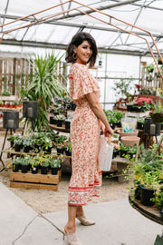Blooming Beauty Midi Dress - Women's Clothing AfterPay Sezzle KanCan Judy Blue Simply Sass Boutique