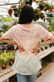 Can't Stop The Tie Dye Top - Women's Clothing AfterPay Sezzle KanCan Judy Blue Simply Sass Boutique