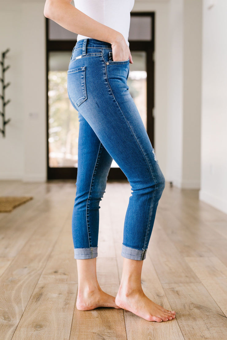 Capricious KanCan Capris - In House - Women's Clothing AfterPay Sezzle KanCan Judy Blue Simply Sass Boutique
