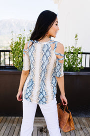 Cold Hearted Snake Top - Women's Clothing AfterPay Sezzle KanCan Judy Blue Simply Sass Boutique