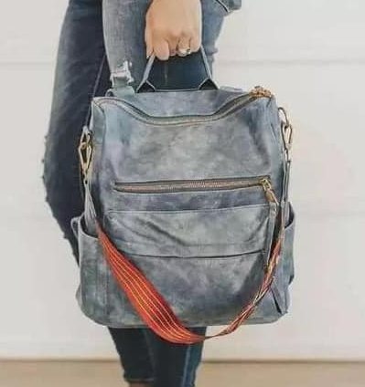 Chloe Convertible Guitar Strap Backpack - PRE-ORDER Shipping ETA 11/25/20 - Women's Clothing AfterPay Sezzle KanCan Judy Blue Simply Sass Boutique