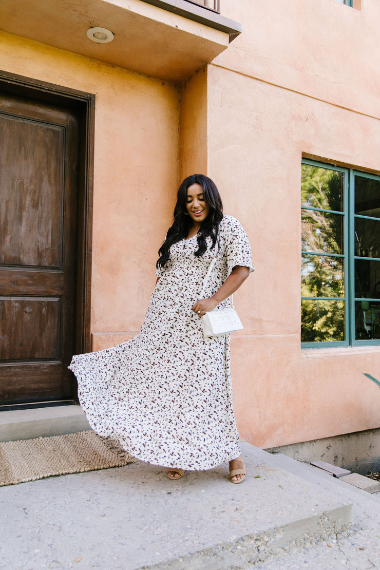 Falling For Spots Maxi Dress - Women's Clothing AfterPay Sezzle KanCan Judy Blue Simply Sass Boutique