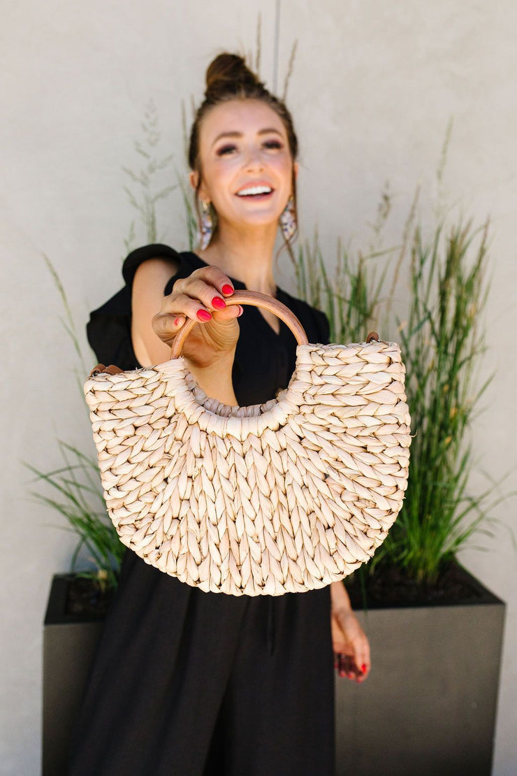 Final Straw Braided Bag - Women's Clothing AfterPay Sezzle KanCan Judy Blue Simply Sass Boutique