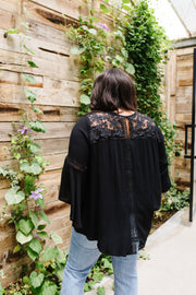 Girl In Black Blouse - Simply Sass Boutique