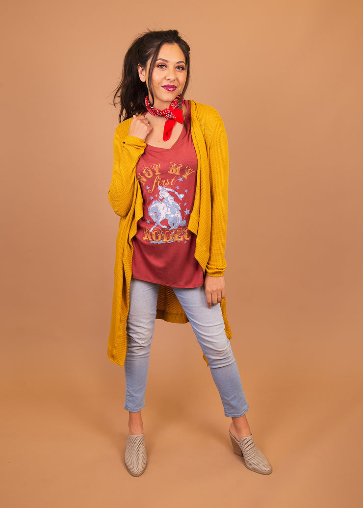 Graphic Tee - Not My First Rodeo - Women's Clothing AfterPay Sezzle KanCan Judy Blue Simply Sass Boutique