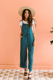 Happy Thoughts & Spots Jumpsuit - Women's Clothing AfterPay Sezzle KanCan Judy Blue Simply Sass Boutique
