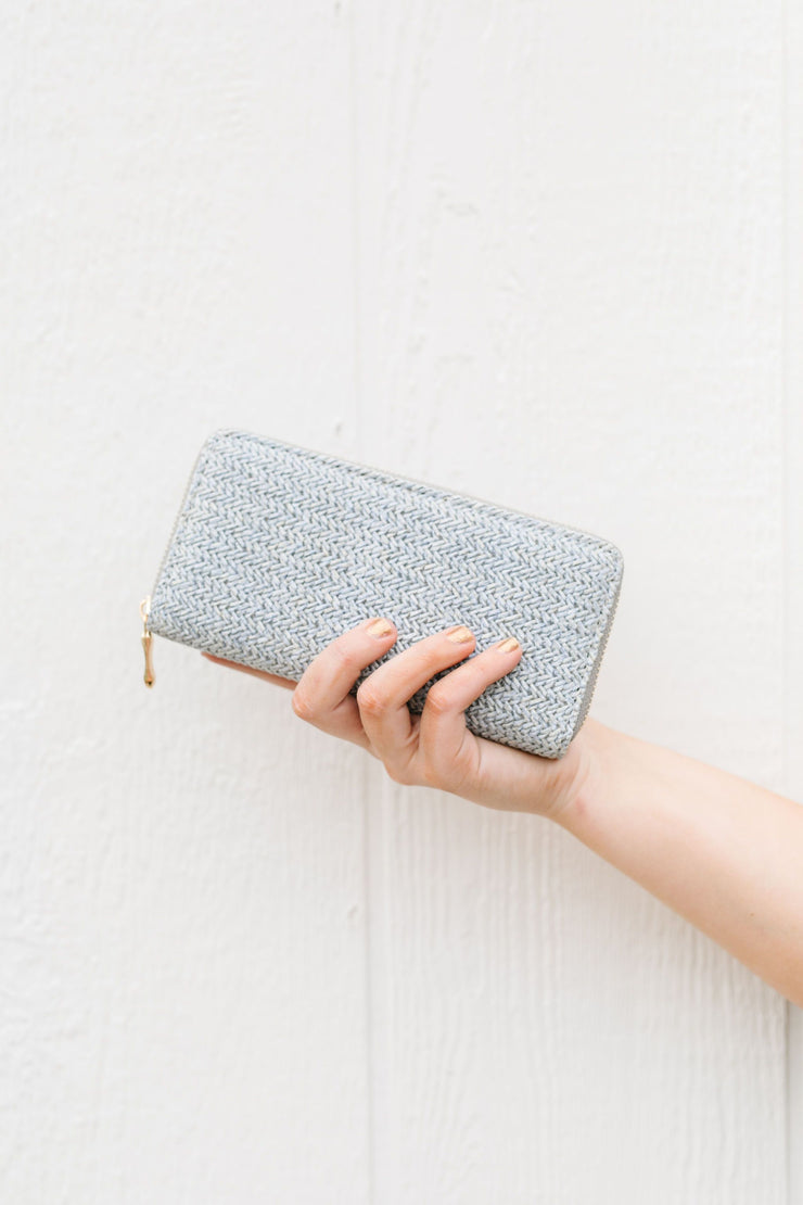Herringbone Wallet - Women's Clothing AfterPay Sezzle KanCan Judy Blue Simply Sass Boutique