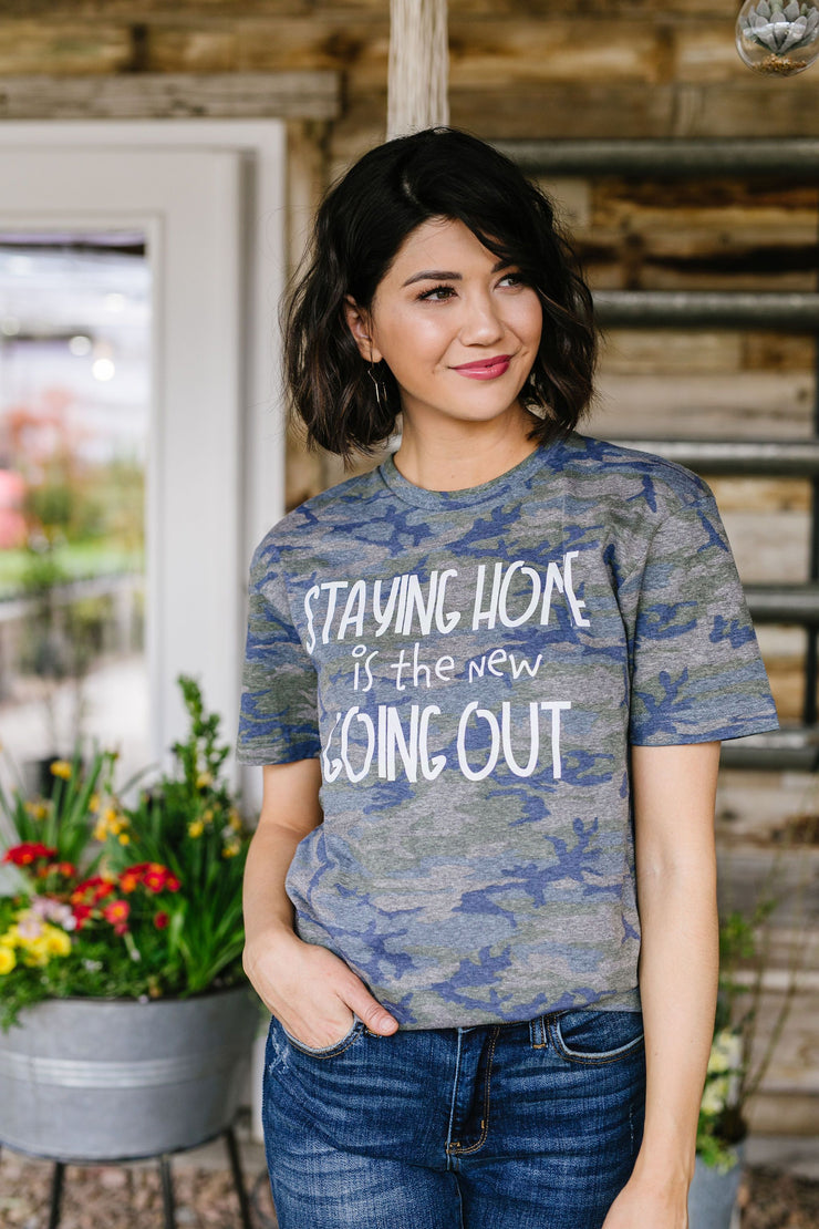 Home Body Graphic Tee - Women's Clothing AfterPay Sezzle KanCan Judy Blue Simply Sass Boutique