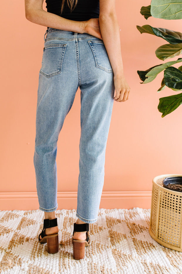 Hot Mama Mom Jeans - Women's Clothing AfterPay Sezzle KanCan Judy Blue Simply Sass Boutique