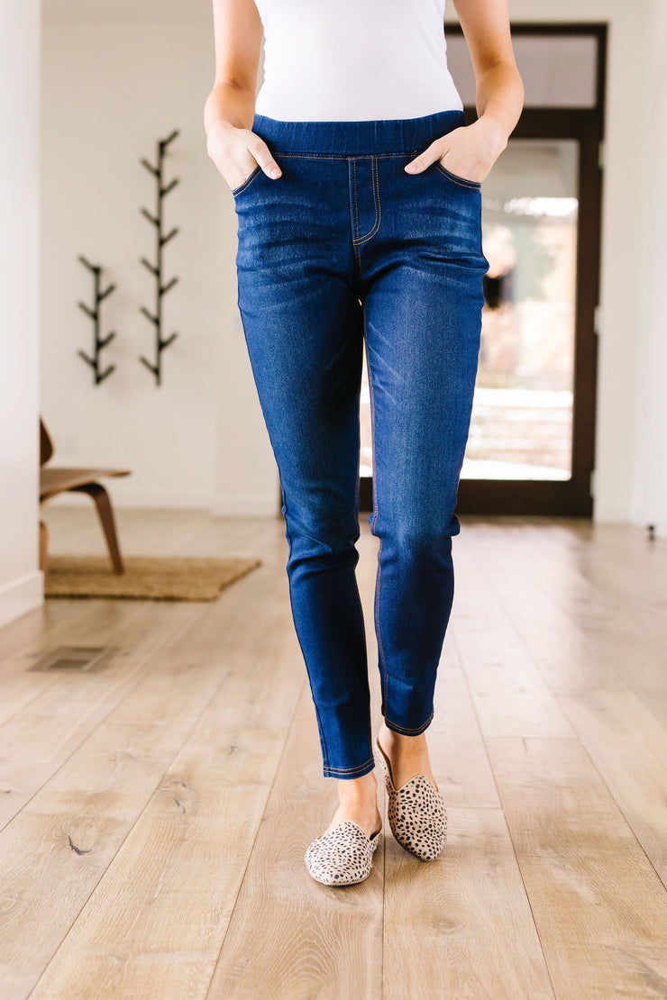 Jessie Just Right Jeggings - Women's Clothing AfterPay Sezzle KanCan Judy Blue Simply Sass Boutique