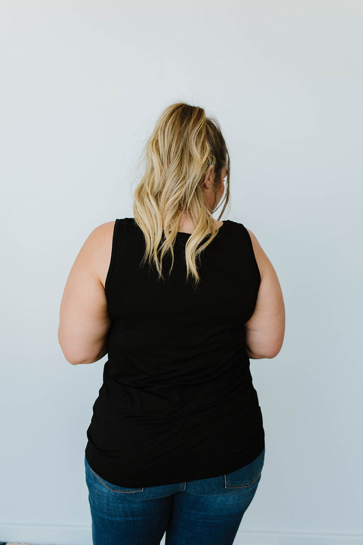 Lace & Shoulders Above The Rest Top In Black - Women's Clothing AfterPay Sezzle KanCan Judy Blue Simply Sass Boutique
