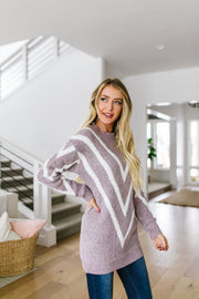 Lilac VVV Sweater - Women's Clothing AfterPay Sezzle KanCan Judy Blue Simply Sass Boutique