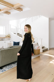 Maxi Cardi In Black - Women's Clothing AfterPay Sezzle KanCan Judy Blue Simply Sass Boutique