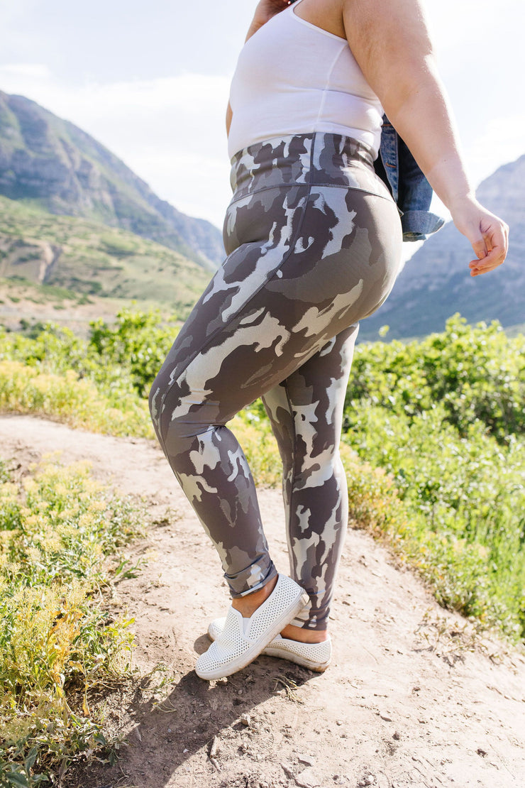 Metal Of Honor Camo Athletic Leggings - Women's Clothing AfterPay Sezzle KanCan Judy Blue Simply Sass Boutique