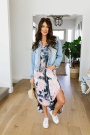 Miami Beach Tie Dye Maxi Dress - Women's Clothing AfterPay Sezzle KanCan Judy Blue Simply Sass Boutique