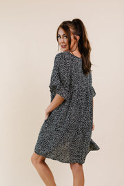Mini Spots Ruffle Sleeve Dress - Women's Clothing AfterPay Sezzle KanCan Judy Blue Simply Sass Boutique