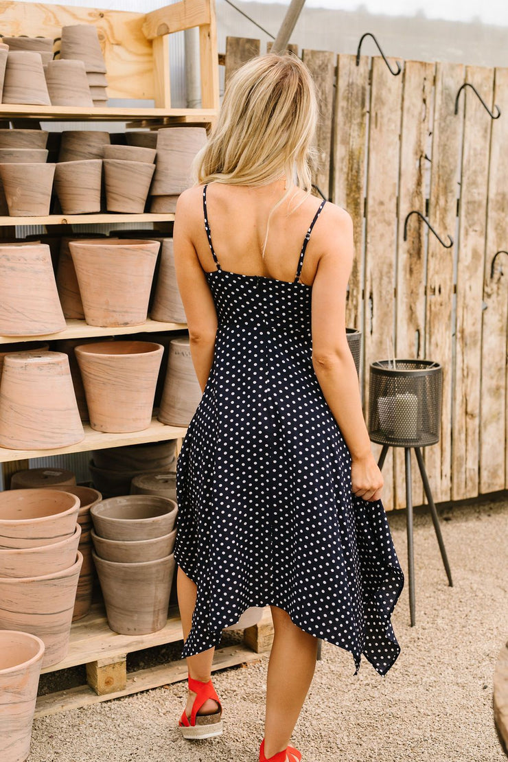 Minnie Polka Dot Sundress - Women's Clothing AfterPay Sezzle KanCan Judy Blue Simply Sass Boutique