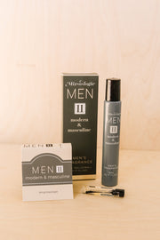 Modern & Masculine Men's Cologne Sample - Women's Clothing AfterPay Sezzle KanCan Judy Blue Simply Sass Boutique