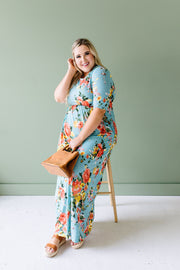 Morning Rendezvous Floral Maxi - Simply Sass Boutique