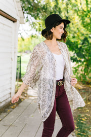Nothing Rattles Me Kimono - In House - Women's Clothing AfterPay Sezzle KanCan Judy Blue Simply Sass Boutique