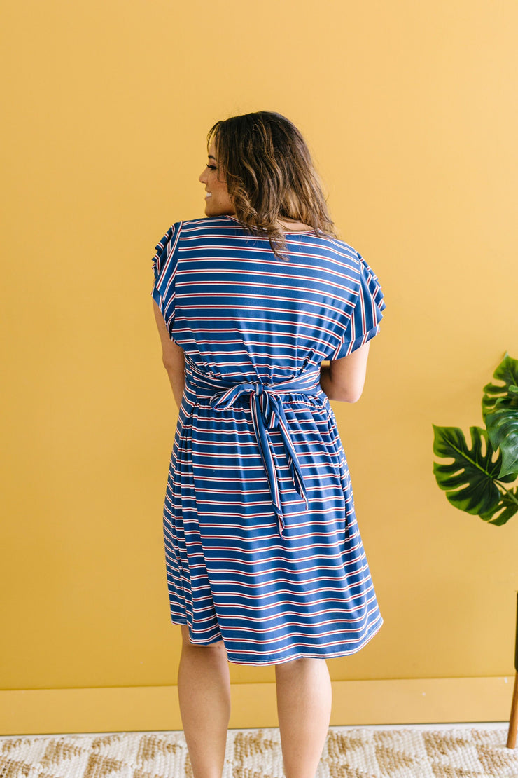 On Point Striped Dress - Simply Sass Boutique