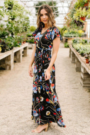 Patriotic Flower Garden Maxi - Simply Sass Boutique
