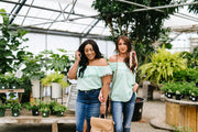 Penelope Pom Pom Off Shoulder Top In Mint - Women's Clothing AfterPay Sezzle KanCan Judy Blue Simply Sass Boutique