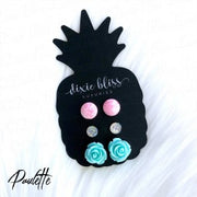 Earring Trio - Paulette - Women's Clothing AfterPay Sezzle KanCan Judy Blue Simply Sass Boutique