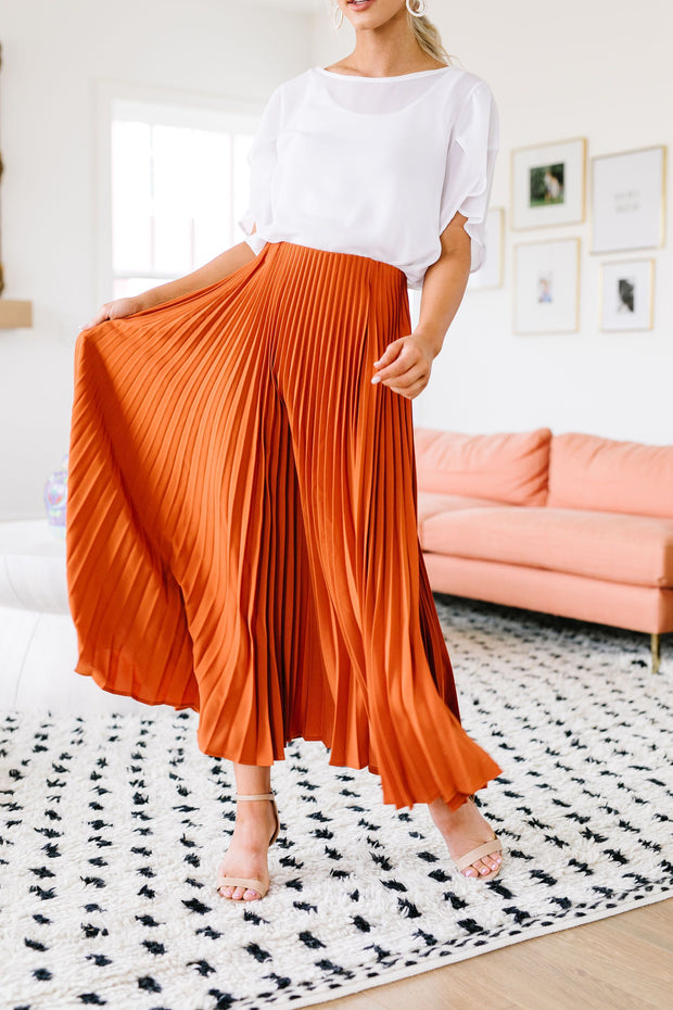 Pleats To Meet Ya Maxi Skirt - Women's Clothing AfterPay Sezzle KanCan Judy Blue Simply Sass Boutique