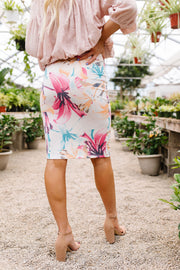 Rhapsody In Bloom Skirt - Simply Sass Boutique