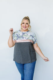 Sequin Stripe All-Star Top - Simply Sass Boutique